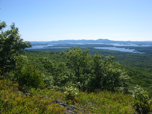 NH - Moultonborough - Mt. Roberts Outlook
